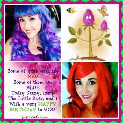 Fan Mail Birthday Love for Sheri Fink 2014