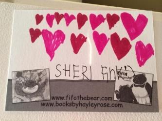 Fan Mail Love for Sheri Fink