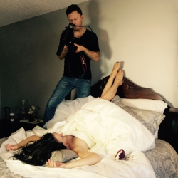 Cake in Bed Video Promo Shoot