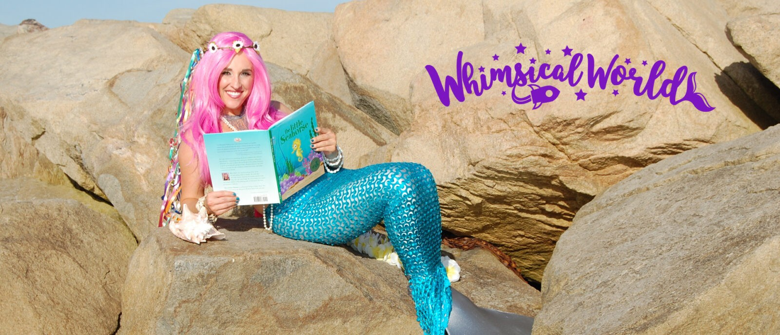 Whimsical World Mermaid Sheri Fink