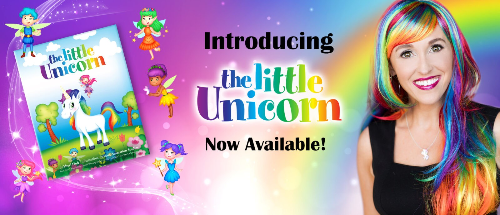 The Little Unicorn book by Sheri Fink is now available