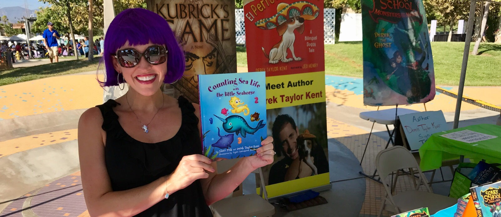 Sheri Fink and Counting Sea Life with the Little Seahorse book