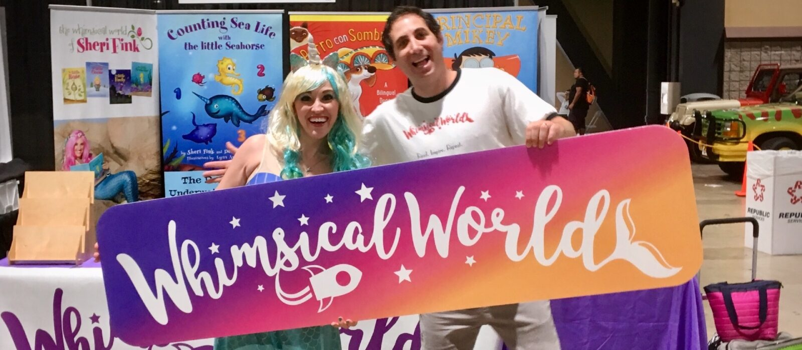 Sheri Fink and Derek Taylor Kent of Whimsical World
