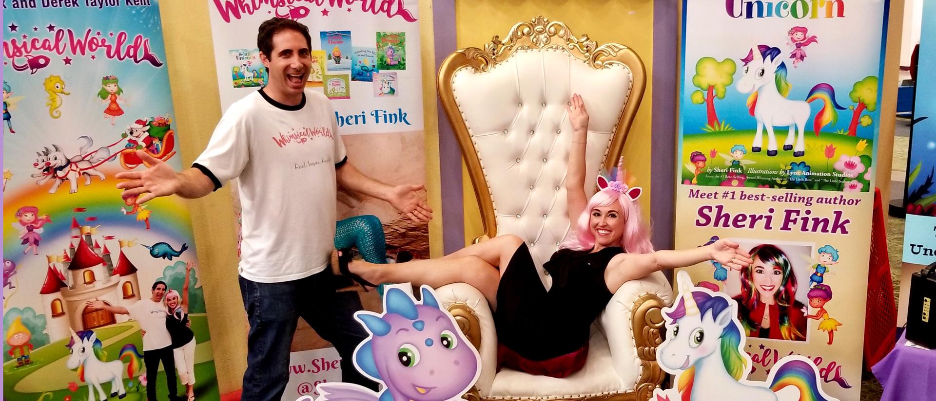 Sheri Fink and Derek Taylor Kent of Whimsical World