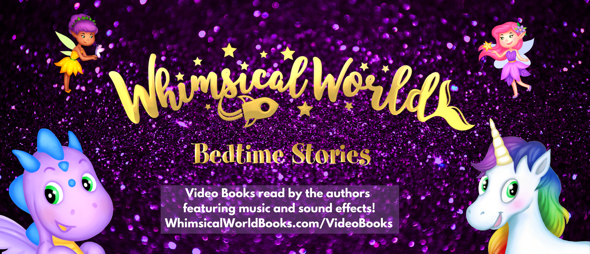 Introducing Whimsical World Bedtime Stories Children's Video Books